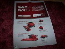 Prospectus / Brochure CASE IH Gamme 2011 //