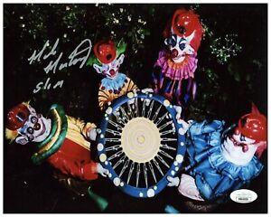 "Mike Martinez Autograph Signed 8x10 Photo - Killer Klowns ""Slim"" (JSA COA)"