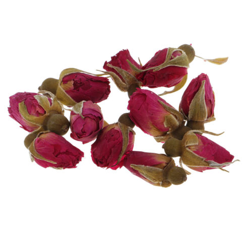 4g Natural Real Flower Dried Flowers Mini Rose Flower for DIY Pendant Charms