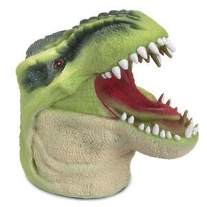 Dino main puppet - 22677 flexiable Plastic Tyrannosaure T Rex Dinosaur Head Fun  </span>