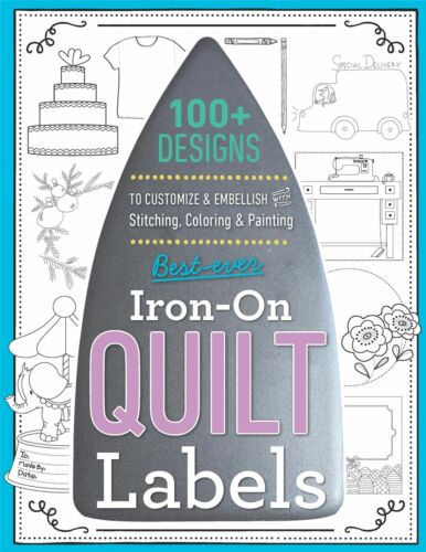 Best-Ever Iron-On Quilt Labels-Variety Of Styles 20393
