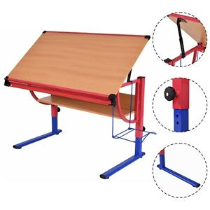 Tiltable Drawing Desk Board Drafting Art Crafting Table Adjustable