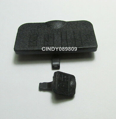 A Set for Nikon D90 USB DC IN HDMI AV OUT Interface Terminal Rubber Cover Lid
