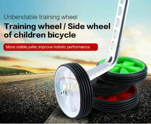 "Children Kids Bike Bicycle Cycle Training Wheel Stabilisers 12/"" 20/""Inch USA"