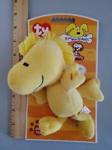 Bow Wow Beanies- Woodstock Bird Dog Toy 2010 #43032💖