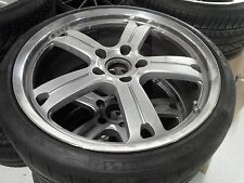 """CHAMPION RS97 ORIGINAL FORGED 20"""" WHEEL/TIRE/TPMS SET FOR WIDE BODY 911 PORSCHE"""
