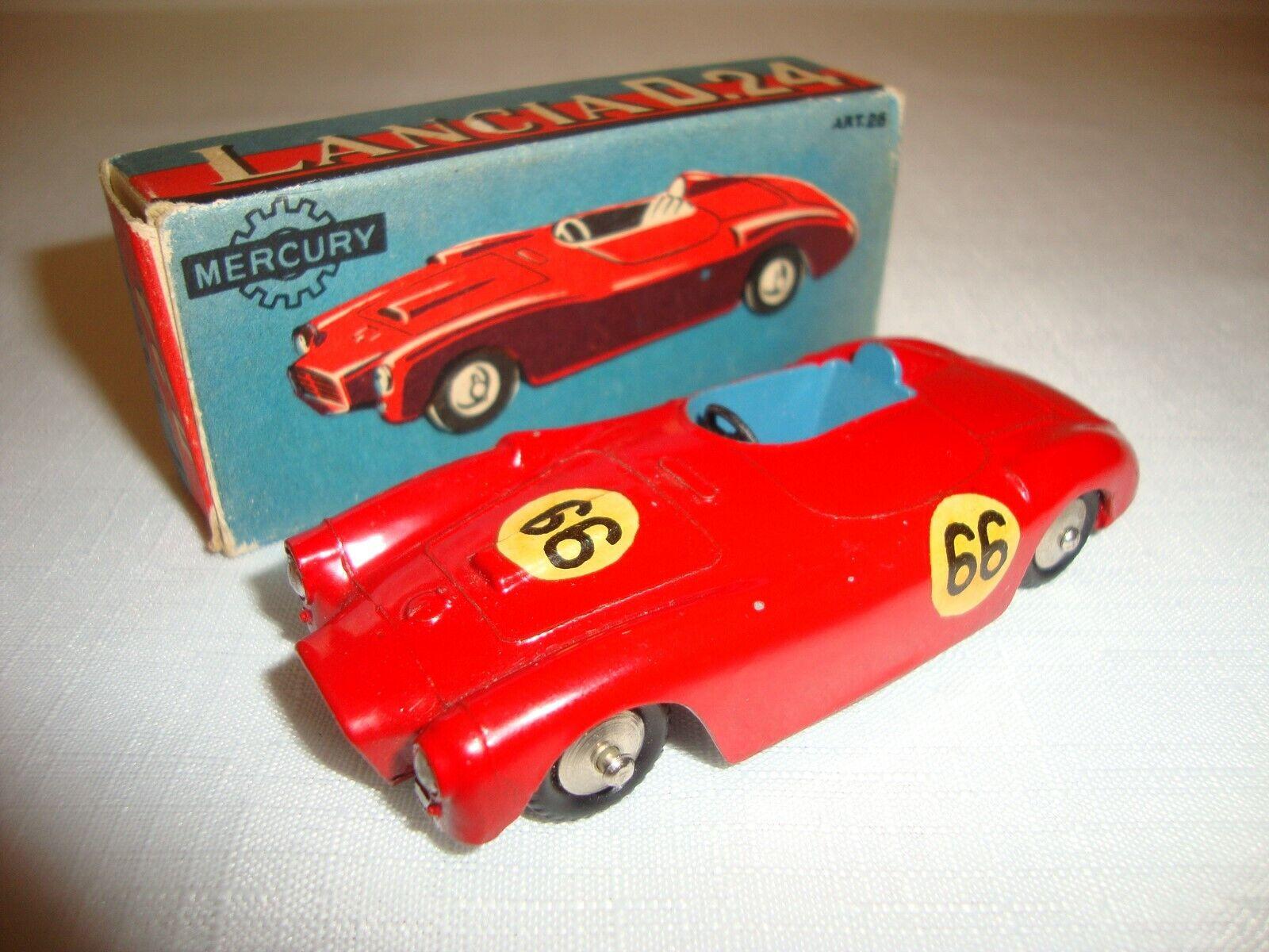 MERCURY 26 LANCIA D.24 (RACING NUMBER 66) - EXCELLENT in original BOX