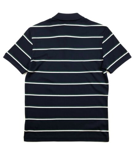 Cotton Lacoste Pima Navy Jersey Dh93700 Regular uomo c08 Polo Stripe Polo Fit da 0Oqd0wY