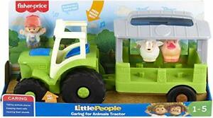 Fisher-price-GTM00-Little-People-carinho-para-animais-Trator