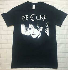 The-Cure-2-039-Black-039-T-Shirt