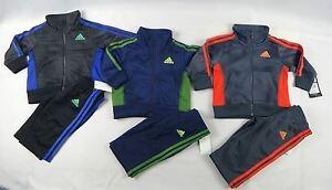 adidas-Baby-Boys-039-set-2-Piece-Sports-set-sizes-6-9-12-18-24-months