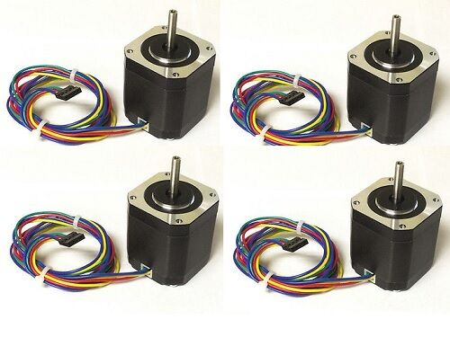 4pcs NEMA17 Stepper Motor,76 oz-in - DIY CNC, Robot, Reprap, ship from Chicago