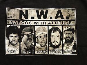 Pablo Escobar Vs Chapo >> N.W.A Straight Outta Sinaloa Narco Caro Mayo El Chapo Guzman Carrillo Mochomo | eBay