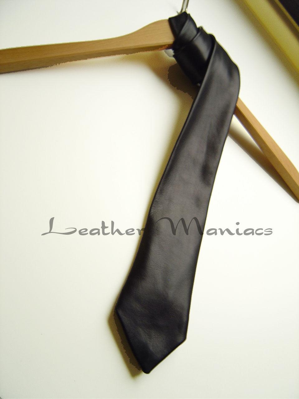black cravate cuir cravate en cuir cuir cravate