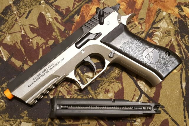 493 Fps Airsoft Gun Magnum Research Baby Desert Eagle Jericho 941 Co2 Powered For Sale Online Ebay