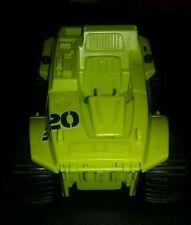 Vintage 1990 GI JOE BADGER 220 turbo jeep G.I. Joe Vehicle Plastic Not Complete