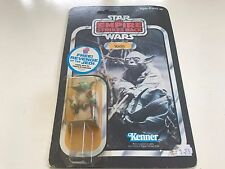 VINTAGE STAR WARS KENNER ESB YODA BROWN SNAKE MOC UNPUNCHED JEDI REVENGE OFFER
