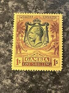 GAMBIA-POSTAGE-amp-REVENUE-STAMP-SG120-1-1922-9-LIGHTLY-MOUNTED-MINT