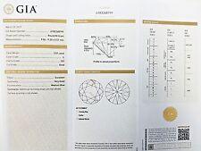 3.01ct Carat GIA Certified Round Brilliant Loose Diamond L Color SI2  Excellent