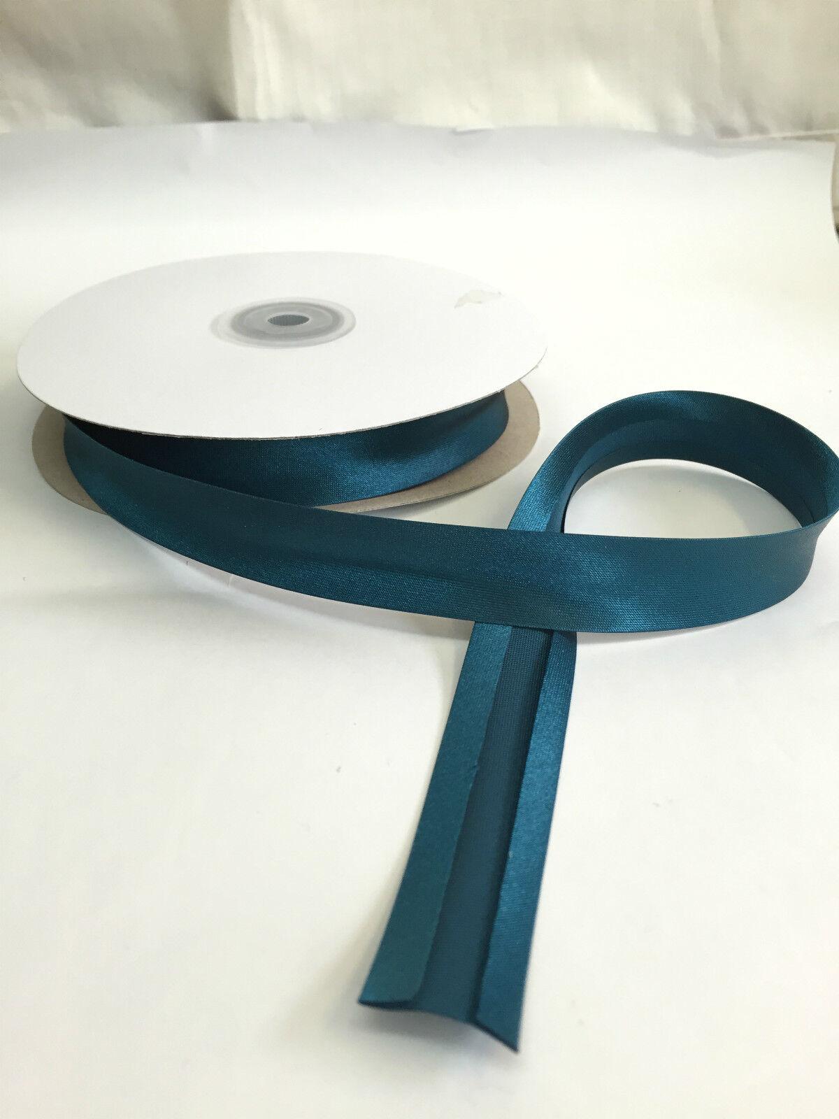 """Large Satin Bias Binding-Meilleure Qualité-GRATUIT UK P /& p 19 mm 3//4/"""""""