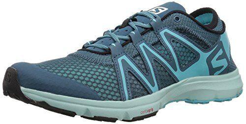 8ed6f5a88108 Salomon L402395 Crossamphibian Swift Blue Women s Hiking Trail Shoes ...