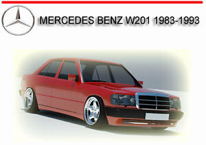 mercedes benz w201 service repair manual dvd ebay rh ebay com au mercedes benz w201 190e 190d service repair manual mercedes benz w204 service manual
