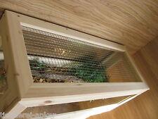 Abdeckung mit Gaze für Schildkröten Terrarien 120*50cm, Landschildkröten; Mäuse