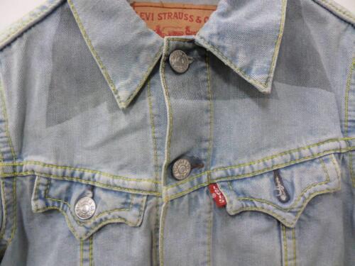 Womens Cropped 32 Vtg Jacket Denim Cropped Levi's Womens 32 Levi's Blue Blu Jacket Denim Vtg Taglia Size Xs Xs qSvnwxH8n