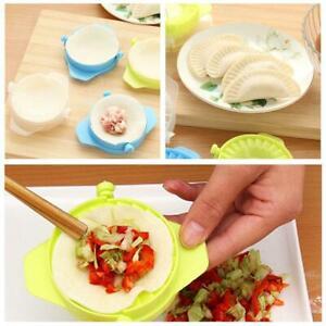 Dumpling-Kitchen-Gadget-Hand-Pinch-Dumplings-Folder-Maker-Tools-Dessert-NEW-L4L6