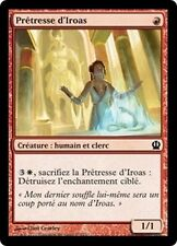 MTG Magic THS - (4x) Priest of Iroas/Prêtresse d'Iroas, French/VF