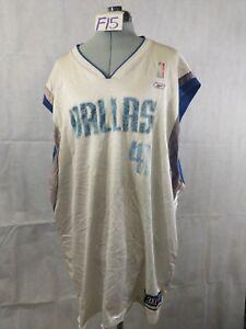 timeless design d3ca0 4af8c F15 VTG REEBOK Dallas Mavericks Dirk Nowitzki #41 NBA ...