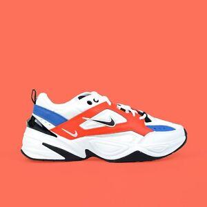 b6fa02d4c5 Nike M2K Tekno John Elliott Summit White Black Orange Men s Dad ...
