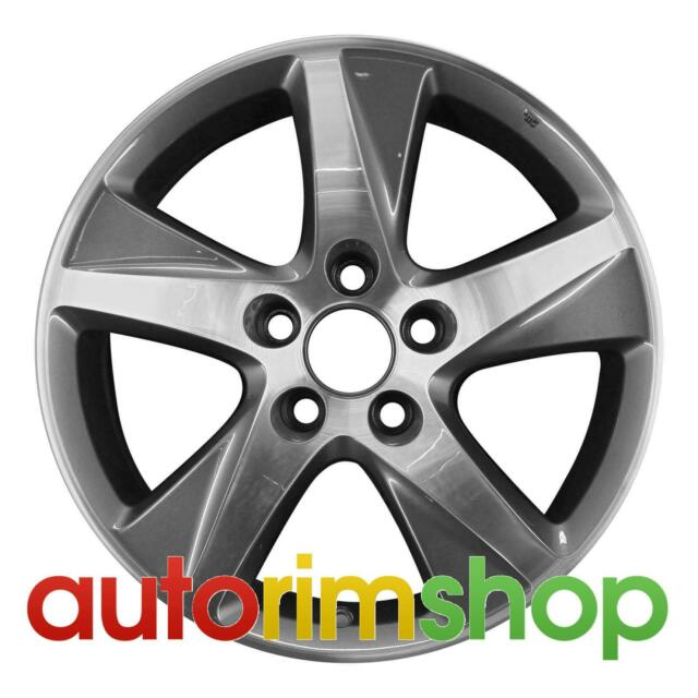 "Acura TSX 17"" Factory OEM Wheel Rim Machined With Charcoal"