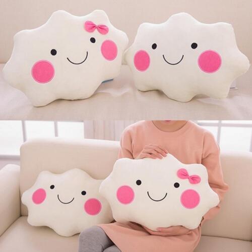 Wolke weichem Plüsch weichen Cartoon Kissenbezug Kissen Geschenk einfache Haupt