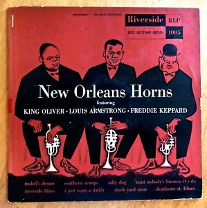NEW-ORLEANS-HORNS-King-Oliver-Louis-Armstrong-Freddie-Keppard-10-LP