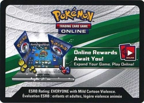 Powers Beyond Hoopa EX XY71 Unused Pokemon Online Booster Codes Emailed