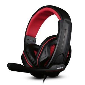 outlet store sale clearance prices lace up in Détails sur Hipoint X2 Over-Ear Gaming Headset casque pour PC PORTABLE PS4  Slim Xbox One- afficher le titre d'origine