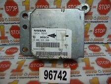 Item 5 2000 00 Nissan Quest Srs Airbag Air Bag Control Module 28556 7b500 Oem
