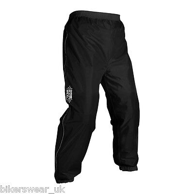 Oxford Rain Seal All Weather Black 100/% Waterproof Motorcycle Over Suit RM300