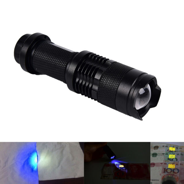 Uv Violet 12-led Flashlight Nightlight Light Inspection Lamp Torch Ultra Violet Invisible Ink Marker Detection Torch Light Led Lighting