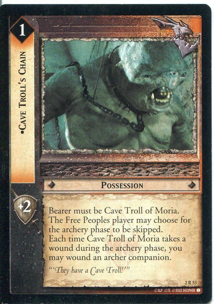 Lord Of The Rings CCG Foil Card MoM 2.R20 Secret Sentinels
