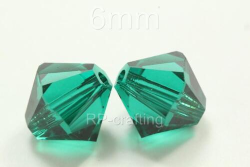 10 Authentic Swarovski Xilion Bicone Crystal Beads 6mm #5328-U Pick Color