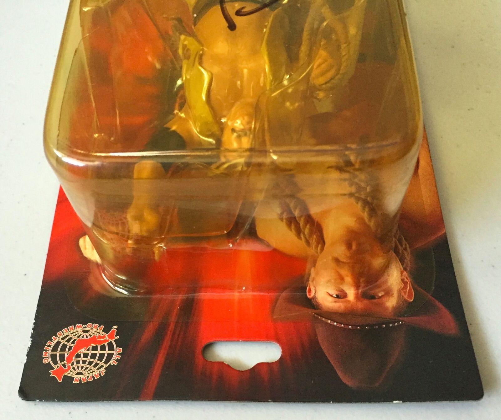 STAN HANSEN HANSEN HANSEN Autographed All Japan Pro Wrestling Figure (WWE WWF AWA) Signed e62163