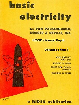Basic Electricity Volumes 1 thru 5 * 1954 * CDROM * PDF * Rider Publication  | eBay