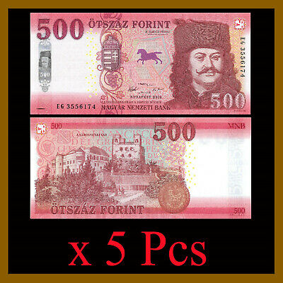 Hungria Hungary 500 Forint UNC 2018 P-NEW
