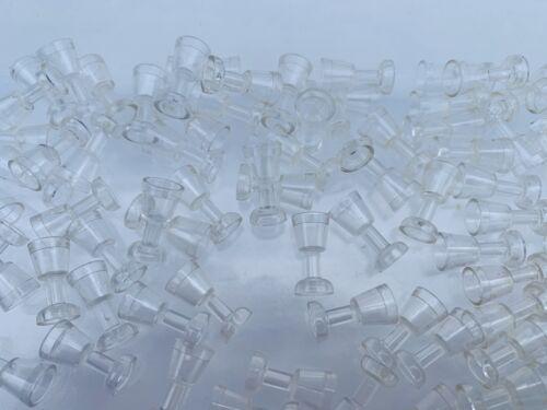 Mini Figure Utensil Translucent Goblet Wine Glass 2 Pieces Per Order LEGO