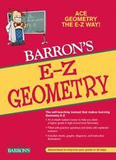 Barron's e-Z: E-Z Geometry by Lawrence S. Leff (2009, Paperback, Revised)