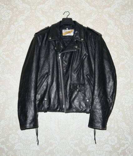SCHOTT Mens Vintage PERFECTO Leather Motorcycle Ma