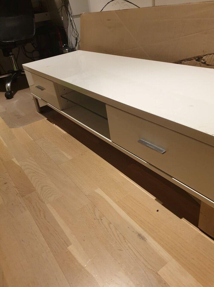 Tv bord, Haster - Vida XL (Højglans), melamin