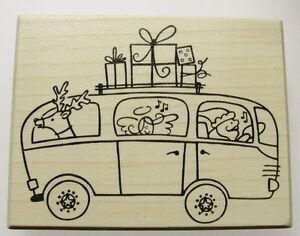 weihnachtskarten gestalten stempel mit engel und elch. Black Bedroom Furniture Sets. Home Design Ideas